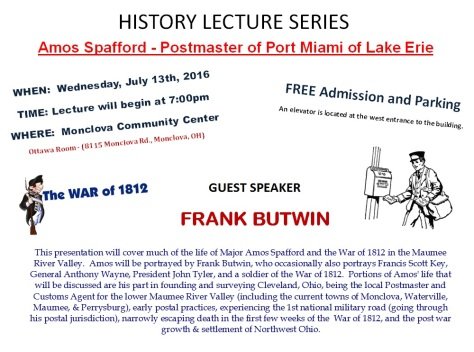Amos Spafford Lecture FB- 6-26-16