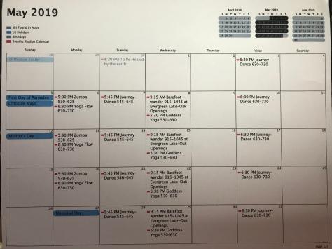 Breathe Calendar