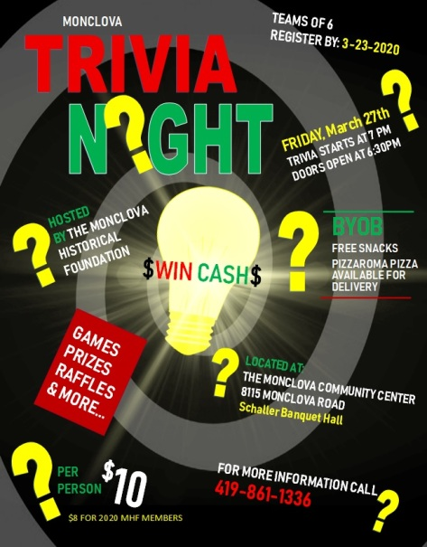 Trivia Night Flyer MAR 2020